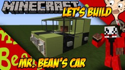 Mr. Bean's Car Minecraft Map & Project