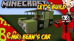 Mr. Bean's Car Minecraft Project