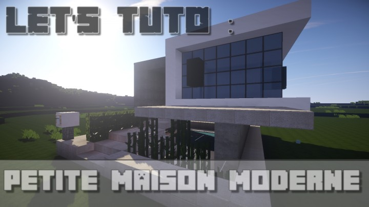 Ultra modern small house minecraft project for Ultra modern small house