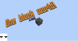 Mctutorials - 1 Block world! (No MCedit) - Blub Minecraft Blog