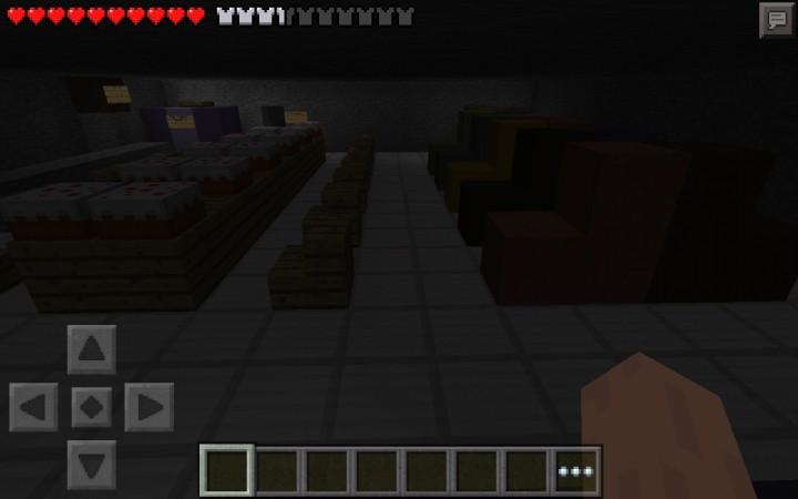 Minecraft pe five nights at freddy s 2 multiplayer map minecraft