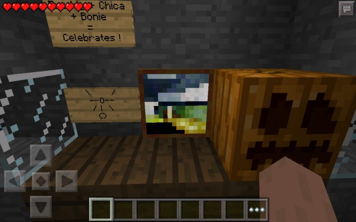 Minecraft pe five nights at freddy s multiplayer map minecraft project