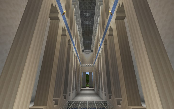 Parthenon Minecraft Project