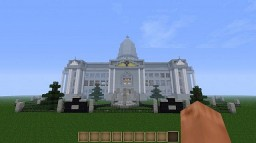 OLD BUILD! - Mr. Burns' Manor From Springfield, The Simpsons Minecraft Map & Project