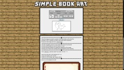 Simple Book Art Creator Minecraft