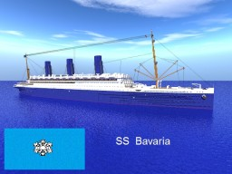 SS Bavaria Minecraft Map & Project