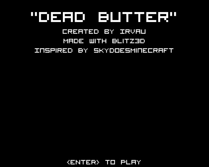 The start-up screen. Removed the gun in the corner of the screen.