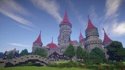 Tshara's Fantasy castle Minecraft Project