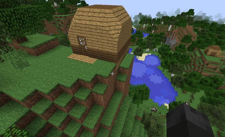 Hidden Underground Base Minecraft Project