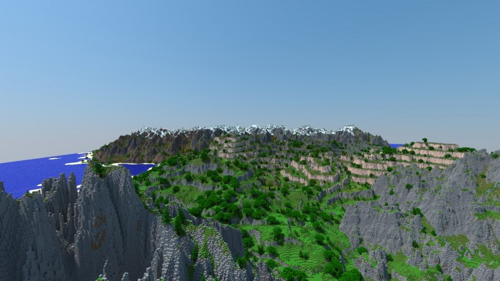 Summer isle, west of the main continent. Location of my upcoming CTM map