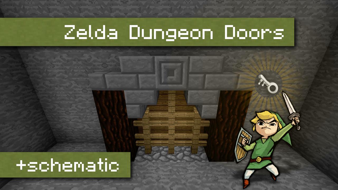 Zelda Dungeon Doors with key system | 100% vanilla & Zelda Dungeon Doors with key system | 100% vanilla Minecraft Project