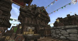 Market Town Minecraft Map & Project