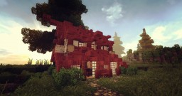 Oriental Style House [DOWNLOAD] Minecraft Map & Project