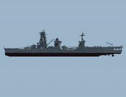 IJN Battleship Ise Minecraft Project