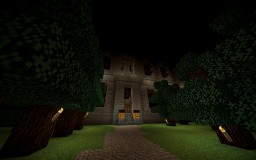 Isolated Haunted House Minecraft Map & Project