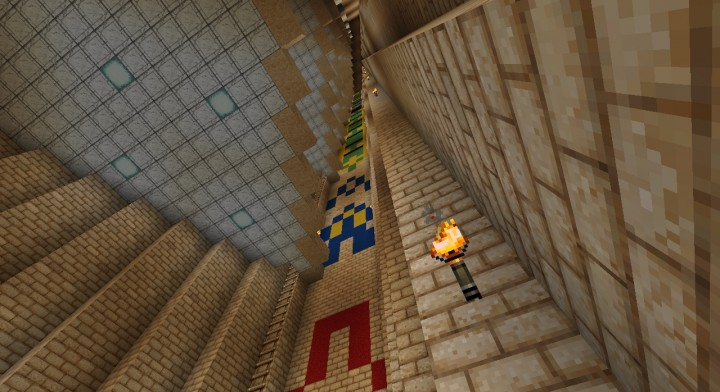 Mega Rayquaza And The Sky Pillar Minecraft Project