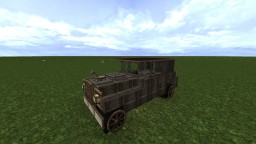 1930's Cadillac Minecraft Map & Project