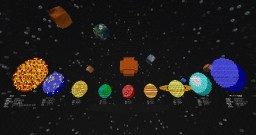 Interactive Solar System [Vanilla] [Holograms] [1.11.2] Minecraft Map & Project