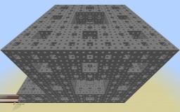 134,217,727 IFS Fractal Generator Minecraft Map & Project
