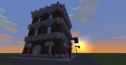Old Boston Style Building Minecraft