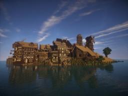 Harbor-Island Minecraft Map & Project