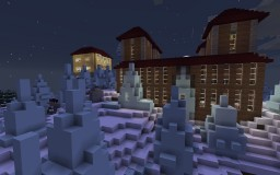 Ice Spikes Manor Minecraft Map & Project