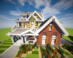 Suburb #6 With Interior Minecraft