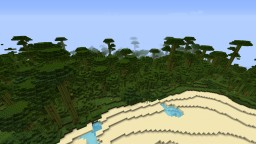 Mountain Island Minecraft