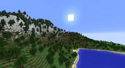 Volcanic Island Minecraft
