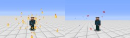 Pyromancer and Aquamancer in Only One Command Minecraft Map & Project