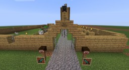 Steve's Fortress Minecraft Project