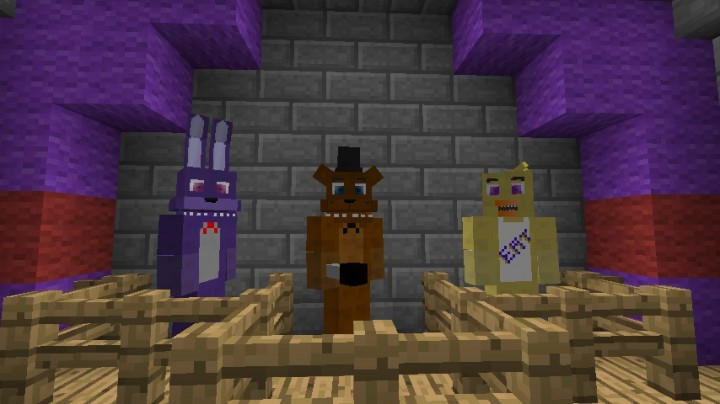 The FNAF mod with advanced models REVIVED! - WIP Mods