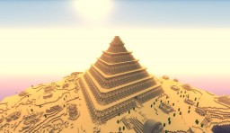 The Pyramid to the Treasury Minecraft Project