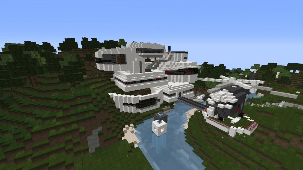 Epic modern house