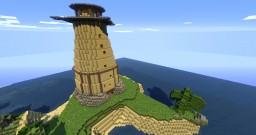 Lighthouse (Beyond Good & Evil inspired) Minecraft Map & Project