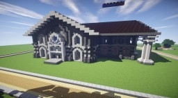 White Mansion Minecraft Map & Project