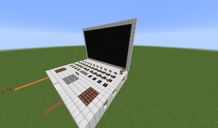 Redstone Computer V2 Minecraft Project