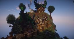 SpawnIsland   ShopIsland   Fantasy houses Minecraft Map & Project