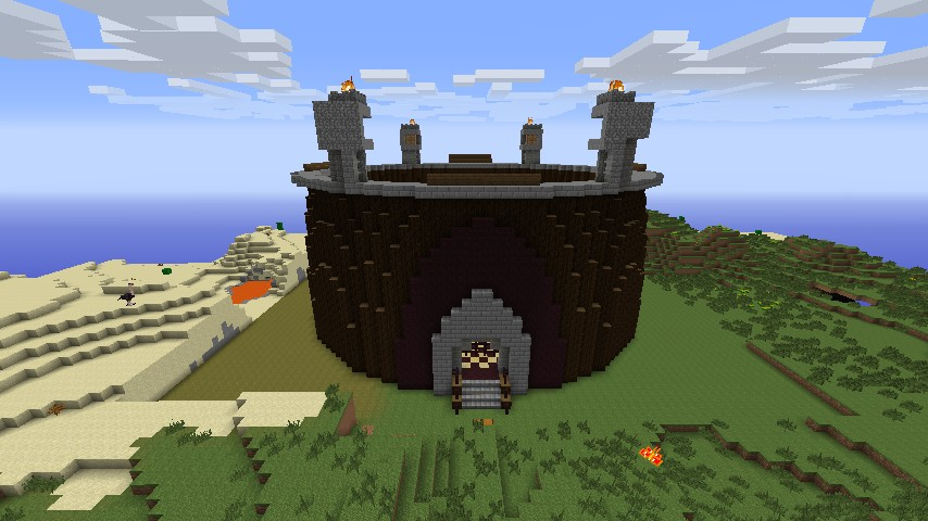 Popularmmos challenge games arena Minecraft Project