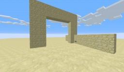 5x5 Door 50 Commands blocks Minecraft Map & Project