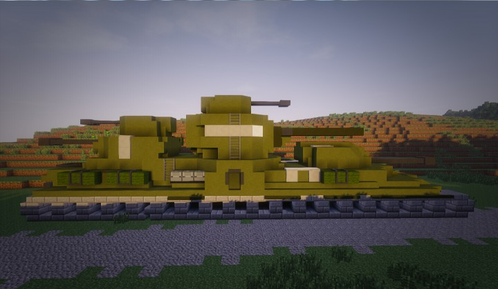 kv 6 super heavy tank minecraft project. Black Bedroom Furniture Sets. Home Design Ideas