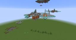 K-22 legius400 class dropship Minecraft Map & Project