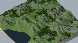 Bassir Mountains - Lol another world painter terrain Minecraft Project