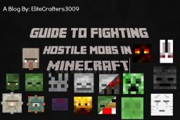 Minecraft   Combat   Fighting Hostile Mobs In Minecraft! Minecraft Blog