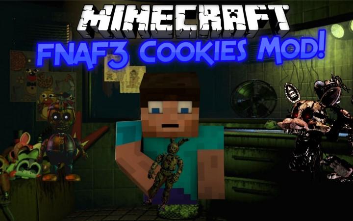 Fnaf3 cookies mod 1 8 forge minecraft mod