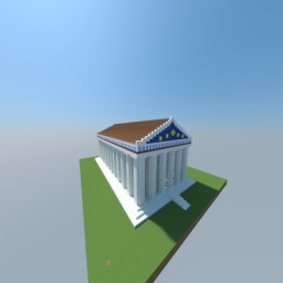 Temple of Zues, Olympia 465 BC Minecraft