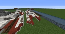 Star Wars Galactic Republic IFT-X Minecraft