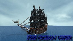 Pirate Ship: The Ocean Viper Minecraft Map & Project