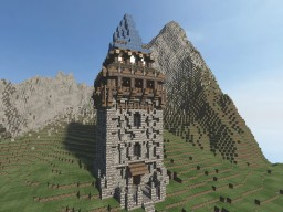Medieval Project #2: Watch Tower Minecraft Map & Project