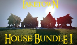Laketown House Bundle I (Battle of the Five Armies preview) Minecraft